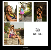 Select images from Jaryn's Senior Session.